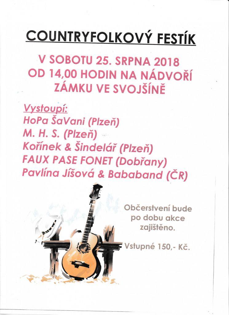 Festival - Svojšín